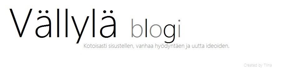 Vällylä Blogi
